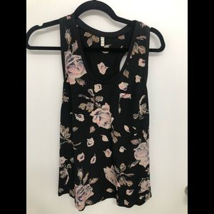 Joie Alicia silk floral tank size small